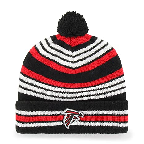 0bac4f049 '47 Brand Yipes Youth Beanie Hat POM POM - NFL Kids Cuffed Winter Toque  Knit Cap