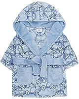 Baby Girls & Boys Fleece Dressing Gown Robes Super Soft Fleece ...