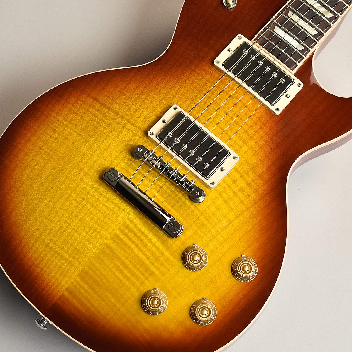 Gibson Les Paul Traditional Premium Plus Tea Burst S/N:190030117 ギブソン   B07TMKBKSR