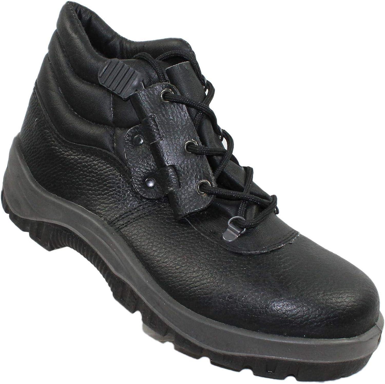 Ariete Zapatos de Seguridad S1P los Zapatos Profesionales Negocio de los Zapatos Zapatos de Trekking Negro Funcionan