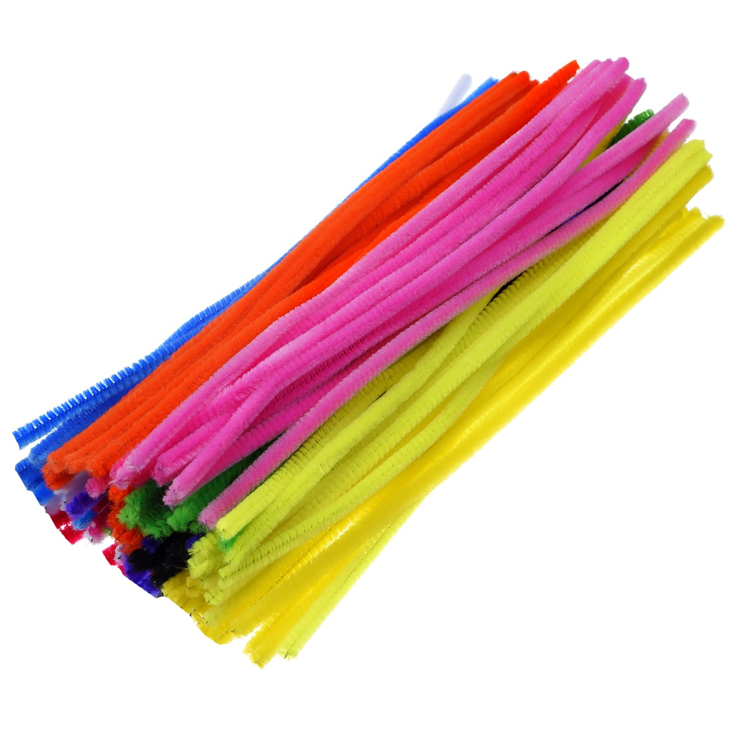 Amazon.com: eBoot 100 Pieces Pipe Cleaners Chenille Stem for Arts ...