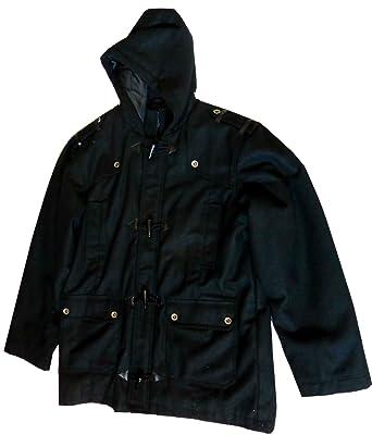 Mecca Mens Stylish Black Wool Coat Clearance Sale at Amazon Men&39s