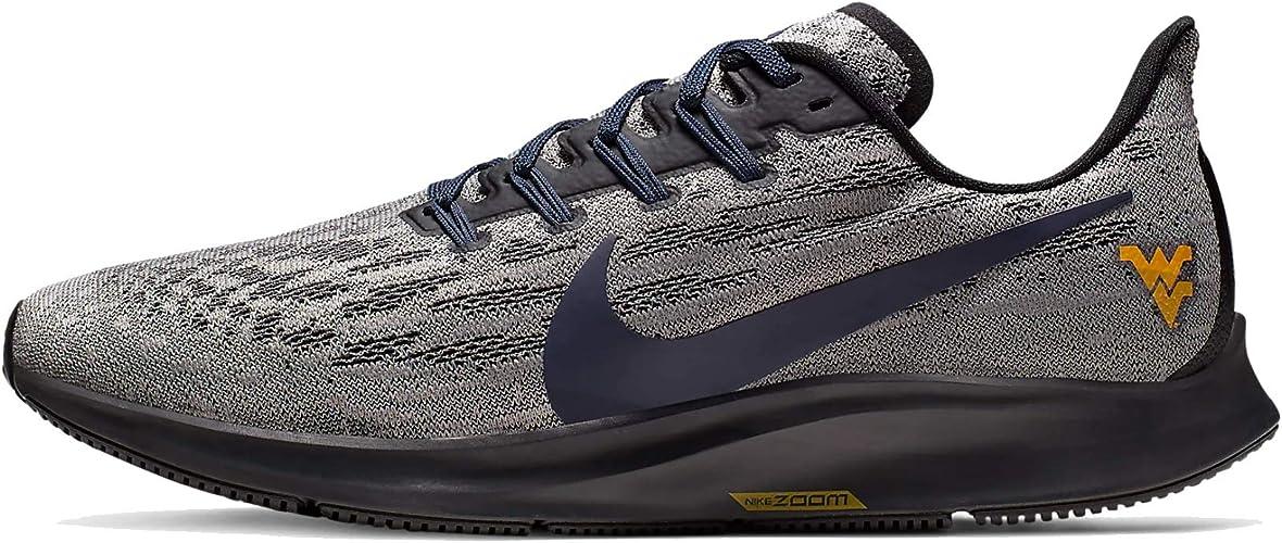 Amazon.com: Nike Air Zoom Pegasus 36 WVU Hombres Ci2085-001 ...