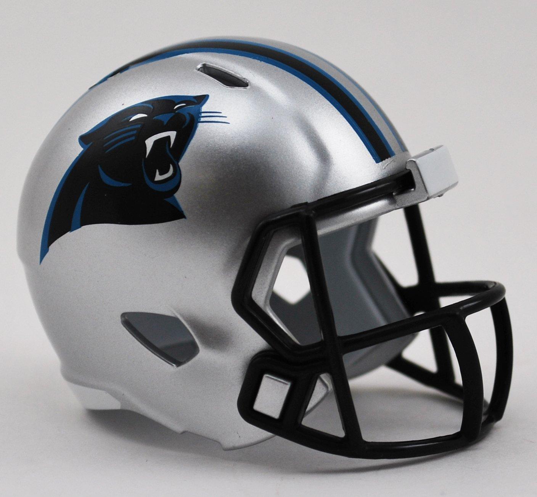 Carolina Panthers Riddell Speed Pocket Pro Football Helmet New in package