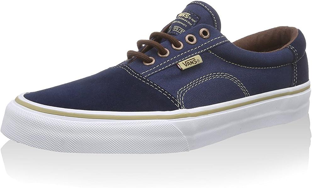 137e73360b Vans Rowley Solos Dress Blues Brown Men s Classic Skate Shoes Size 7.5