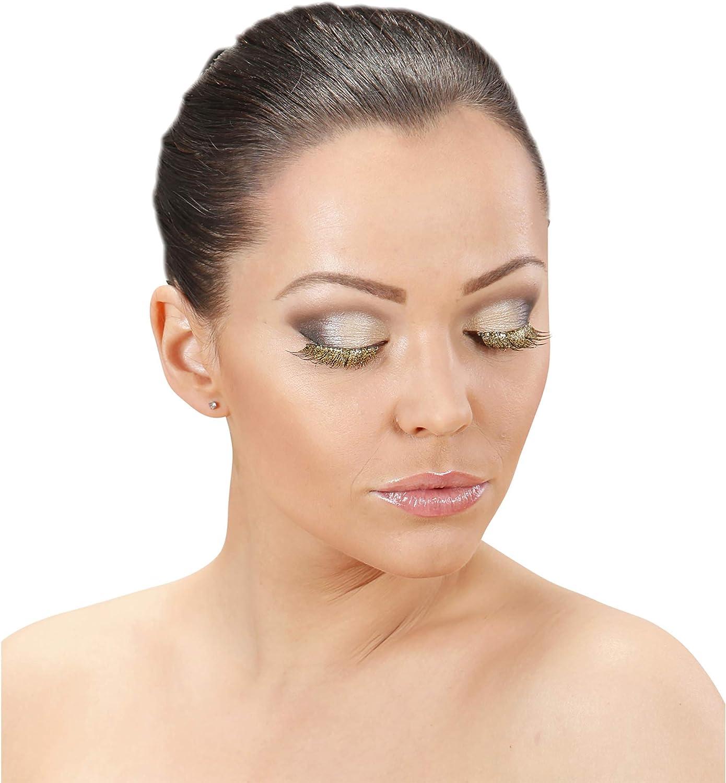 Oro Ciglia Glitter Womens VD-WDM7906D WIDMANN Taglia Unica