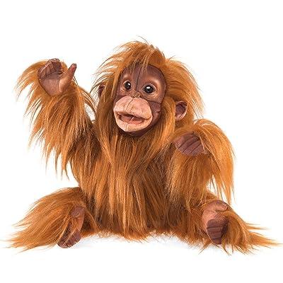 Folkmanis Baby Orangutan Hand Puppet: Toys & Games
