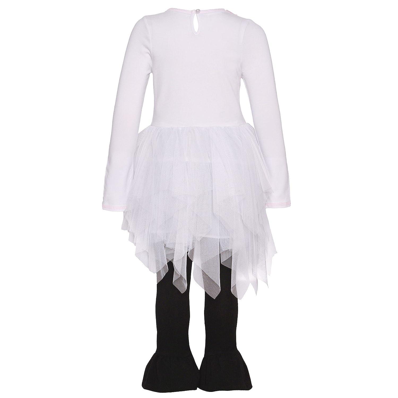 Bonnie Jean White Sweet Mummy Legging Set