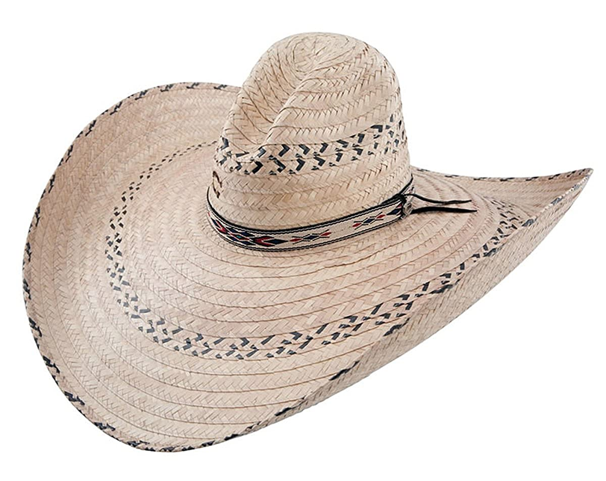 723a46c56d9 Charlie 1 Horse Men s Mariposa Straw Cowboy Hat Natural One Size at Amazon  Men s Clothing store  Riding Breeches