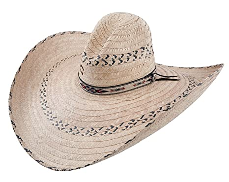 Charlie 1 Horse Men s Mariposa Straw Cowboy Hat Natural One Size at ... 2927dcd213f