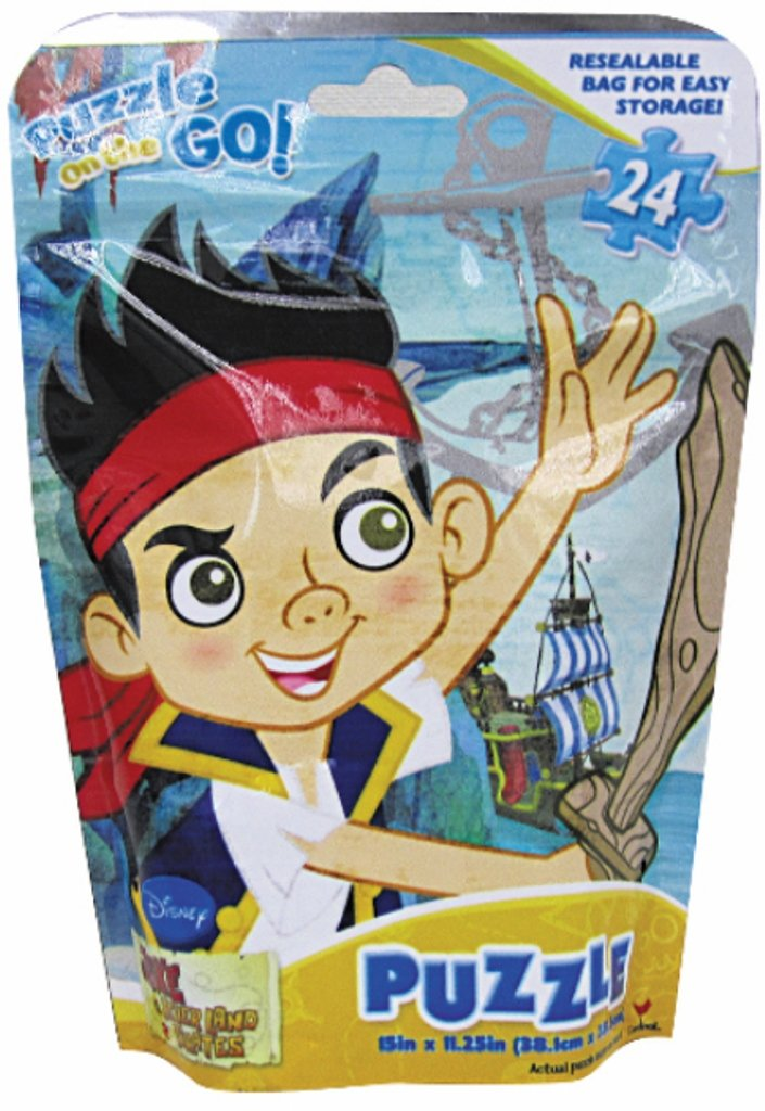 Jake and The Never Land Pirates Puzzle on The Go! 24 Pieces