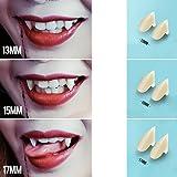 VORCOOL 3 Pairs of Sharp Vampire Teeth Caps Werewolf Fangs ...