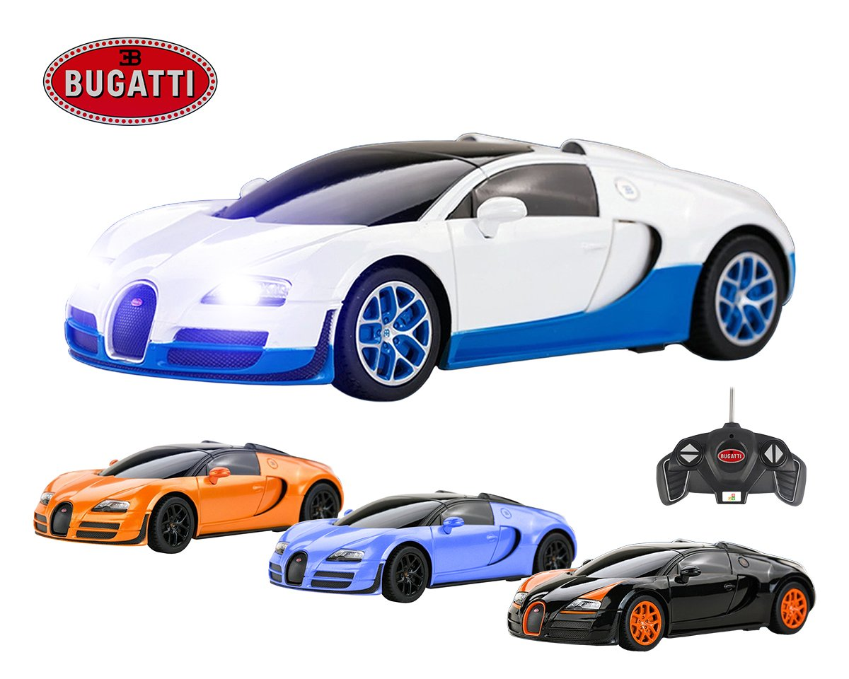 bugatti veyron remote control car official licensed 16 4. Black Bedroom Furniture Sets. Home Design Ideas