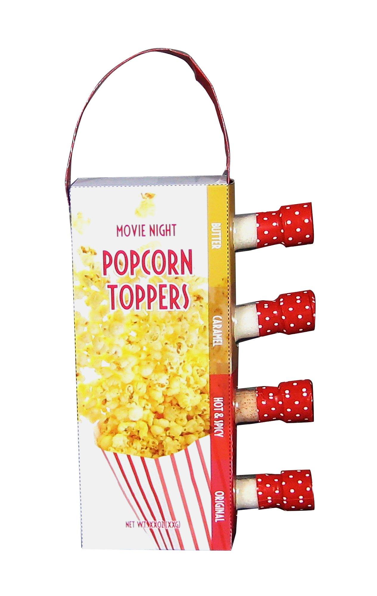 MSRF Vintage Classic Variety Pack Set, Movie Night Flavored Popcorn Salt, 10.75 Ounce