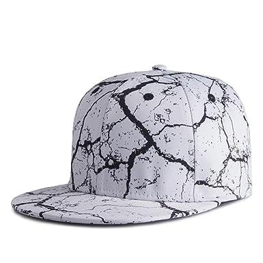 b2f313b0 HBBCEED Men Women Outdoor Sport 3D Digital Printing Heat Transfer Hip Hop Cap  Baseball Cap Snapback Bone Hats - White -: Amazon.co.uk: Clothing
