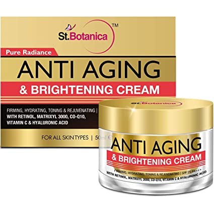 0a279cbbd51 StBotanica Pure Radiance Anti Aging & Face Brightening Cream, SPF 25 ...