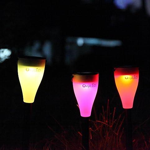 Lampe Solaire Jardin OxyLED SL03 Lampe Solaire Imperméable pour ...