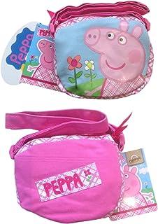 Peppa Pig borsetta tracolla regolabile in cotone
