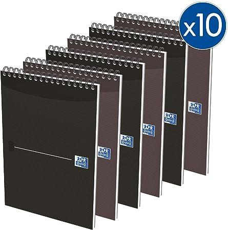 Oxford Essentials - Juego de 10 cuadernos de notas (14,8 x 21 cm ...