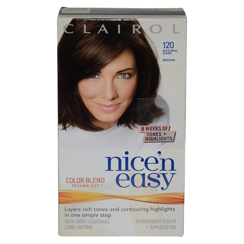 Buy Clairol Nice N Easy Hair Color Natural Dark Brown 120 Online