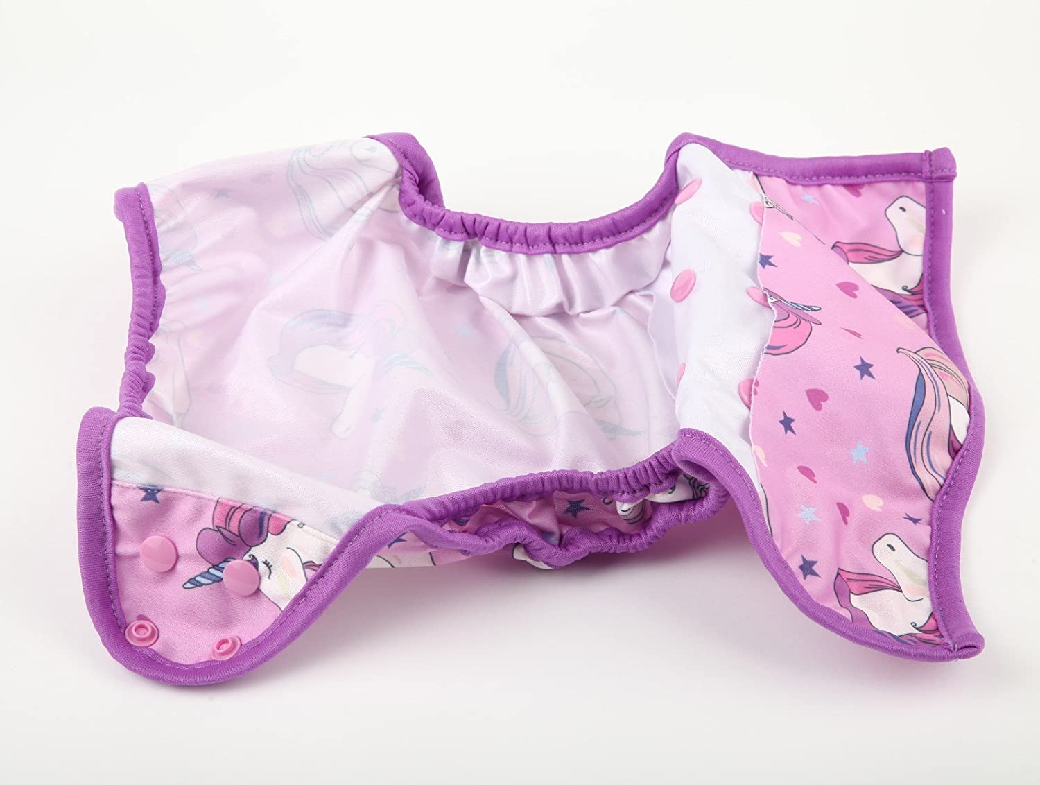 One Size Cloth Diaper Cover Snap With Double Gusset Baby Fox
