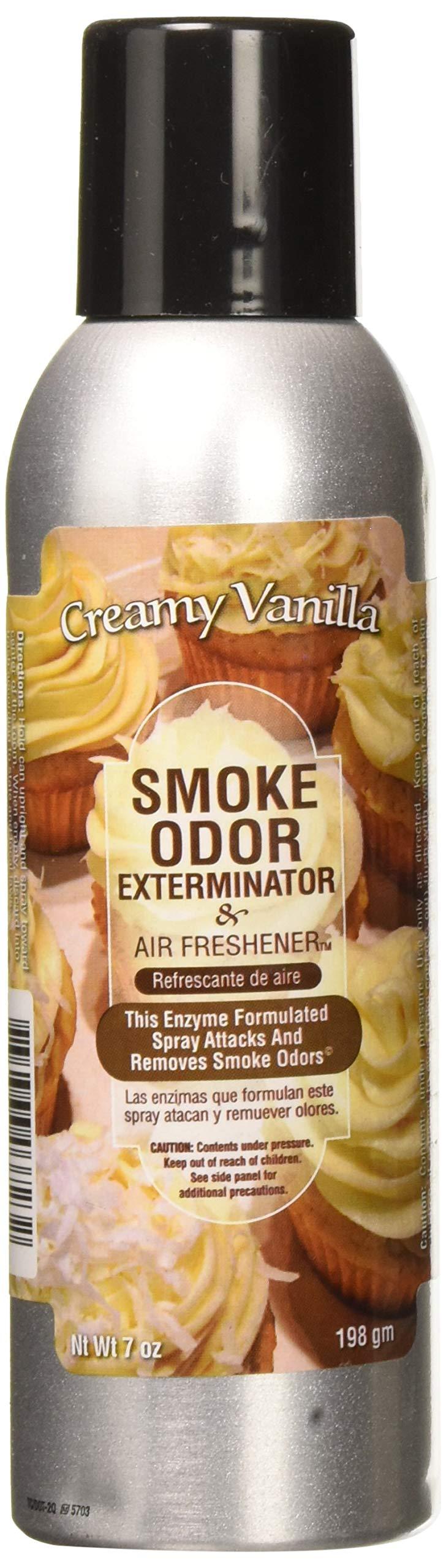 Tobacco Outlet Products Smoke Odor Exterminator, 7 Ounce (Creamy Vanilla)