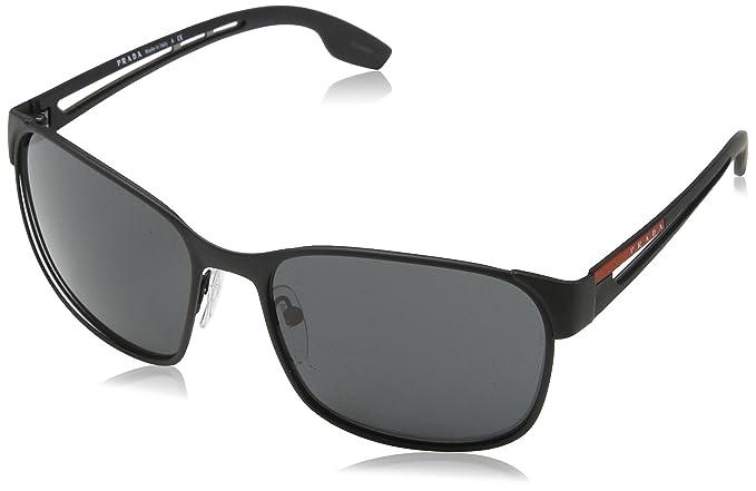 Amazon.com: Prada Linea Rossa para hombre 0PS 52ts, negro ...