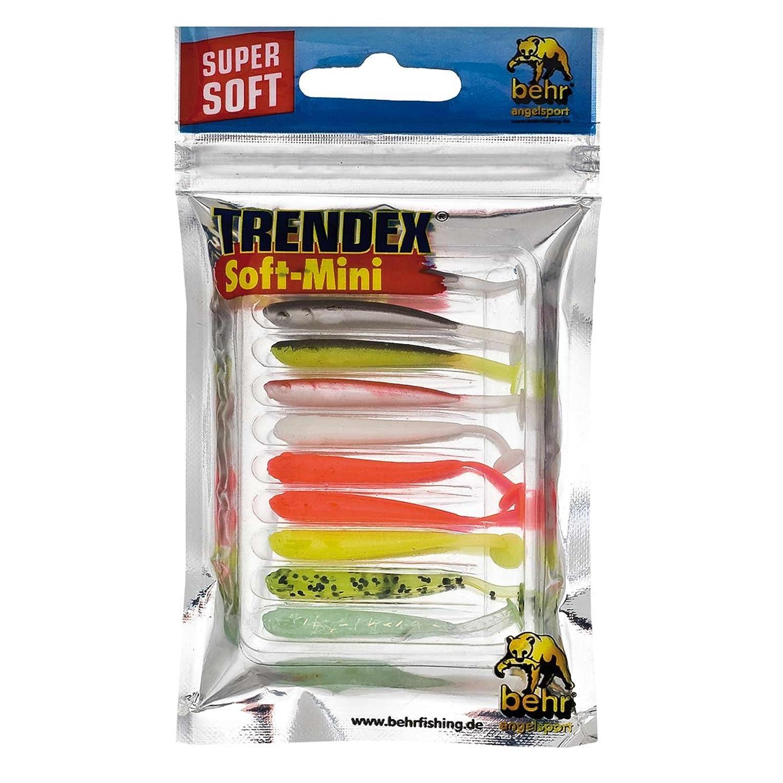 3 Twister Shads Trendex Softlures Kunstköder Gummifisch Köder 9 cm Zanderköder