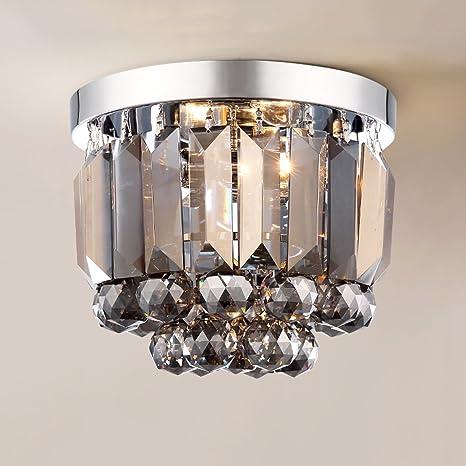 LWR Estilo Europeo Lámpara de Cristal Simple Lámpara de ...