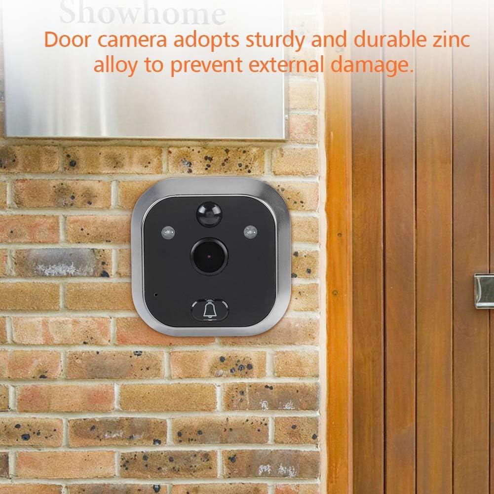 Sonnette vid/éo avec appareil photo num/érique de porte de chat avec IR Vision de nuit//D/étection de mouvement//automatique de photos