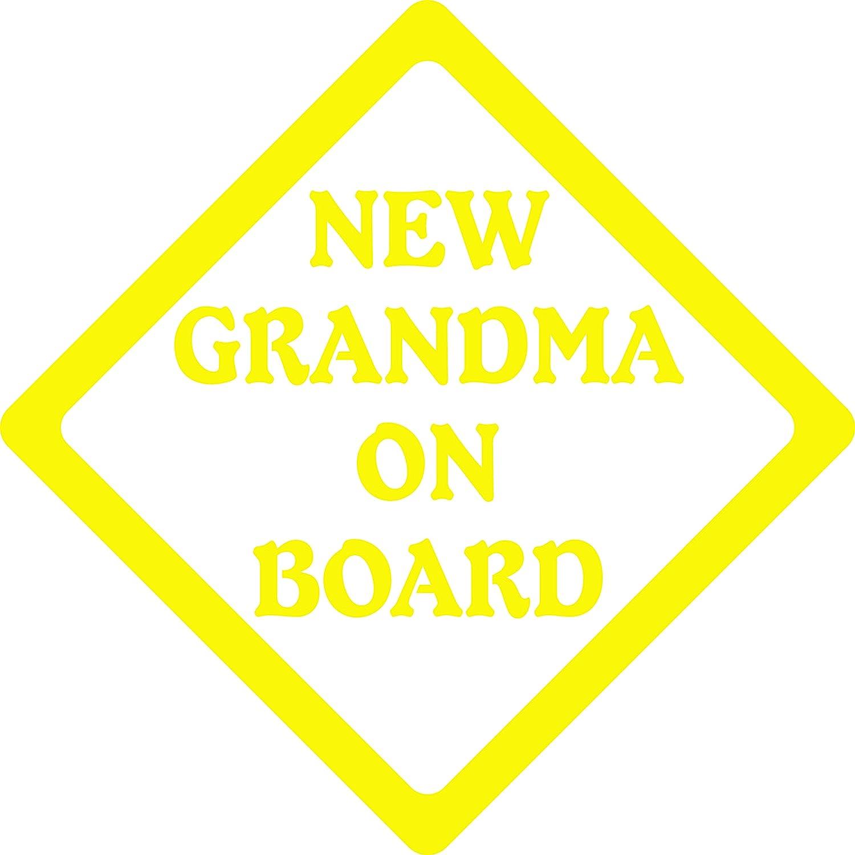 Amazon.com: NEW GRANDMA ON BOARD 5\