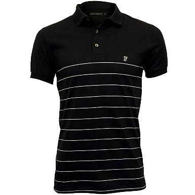 Amazon.com: French Connection Striped Pique Men\u0027s Polo Shirt, Navy/White:  Clothing