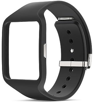 Sony Mobile SWR510BK Bracelet de Remplacement Classique pour Sony SmartWatch 3 - Noir