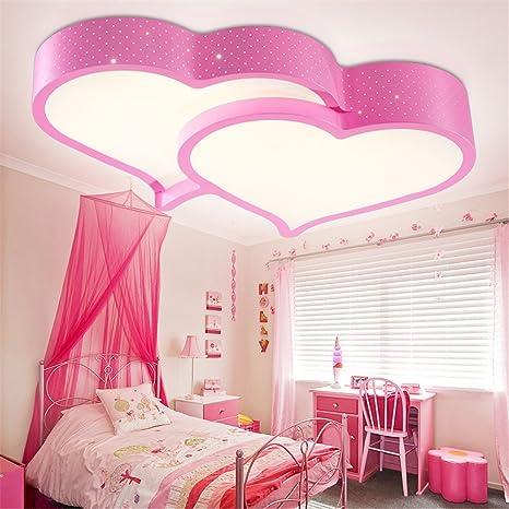 BRIGHTLLT Boda romántica Habitación luz rosa habitación ...