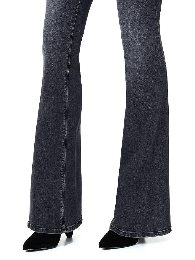 Jeans Bottom Up Beat Nero Slavato LIU Jo: Amazon.es: Ropa y ...