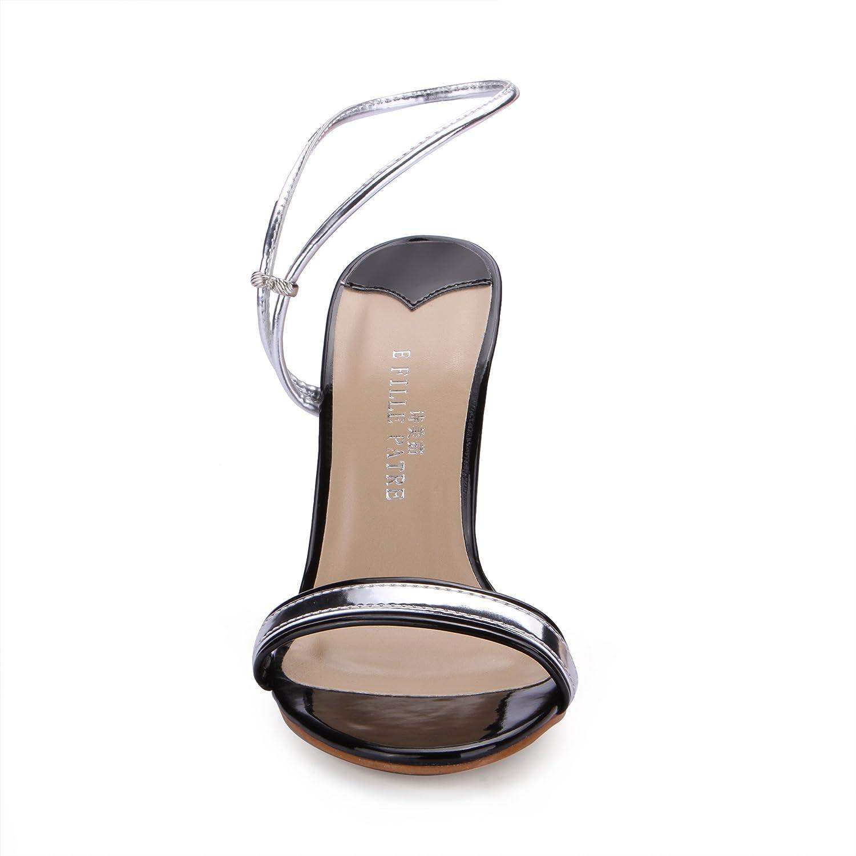 DolphinGirl Women Red Platform Gold Ankle Strap Sandals Stiletto Ladies Pumps SM00288