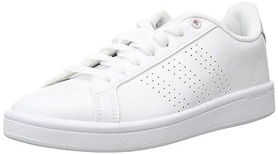 a68ab7f8c5f adidas Women s CF Advantage CL Sneaker White aero Pink