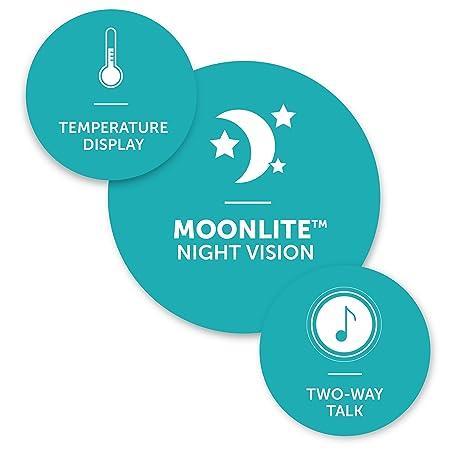 Amazon.com: Monitor de vídeo de alta definición para bebés ...