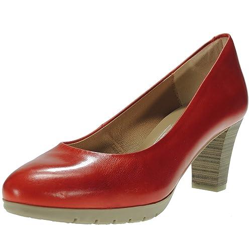 Flexible Desiree Antideslizante Goma Piso Zapato Salón Piel 2220ve v6fgyYb7
