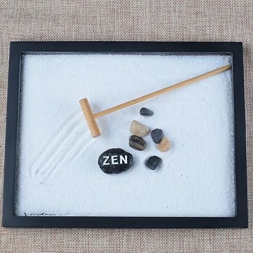 Following Juego de decoración para jardín de Zen, meditación de Arena y relajación pacífica: Amazon.es: Electrónica