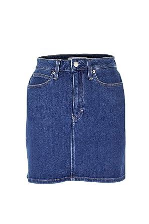Mini Klein Hr Jupe J20j209495 Jeans Calvin Skirt Femme VUMGSzpq