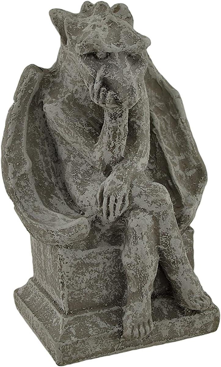 Private Label Birdman Obscene Gesture Concrete Gargoyle Statue