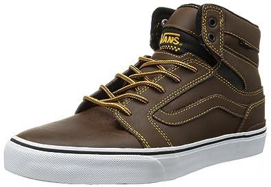 c91a69d70b0 Vans Sanction Mens Brown Skate Shoes Size 8.5