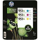 3 Original XL Druckerpatronen von HP für Officejet Pro 8600 (Cyan/Yellow/Magenta) Tintenpatronen