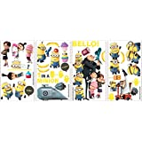 Roommates Rmk2080Scs Despicable Me 2 Peel And Stick Wall Decals