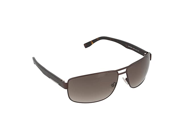 Amazon.com: Hugo Boss 0668/S L20 Marrón 0668/S cuadrados ...