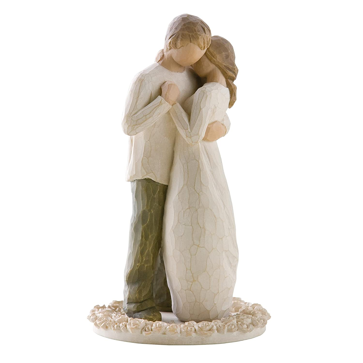 Amazoncom Willow Tree Promise Cake Topper Susan Lordi 26189