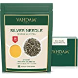 VAHDAM, Silver Needle White Tea Loose Leaf (25 Cups) | HEALTHIEST TEA, 100% NATURAL White Tea Leaves | POWERFUL ANTI…