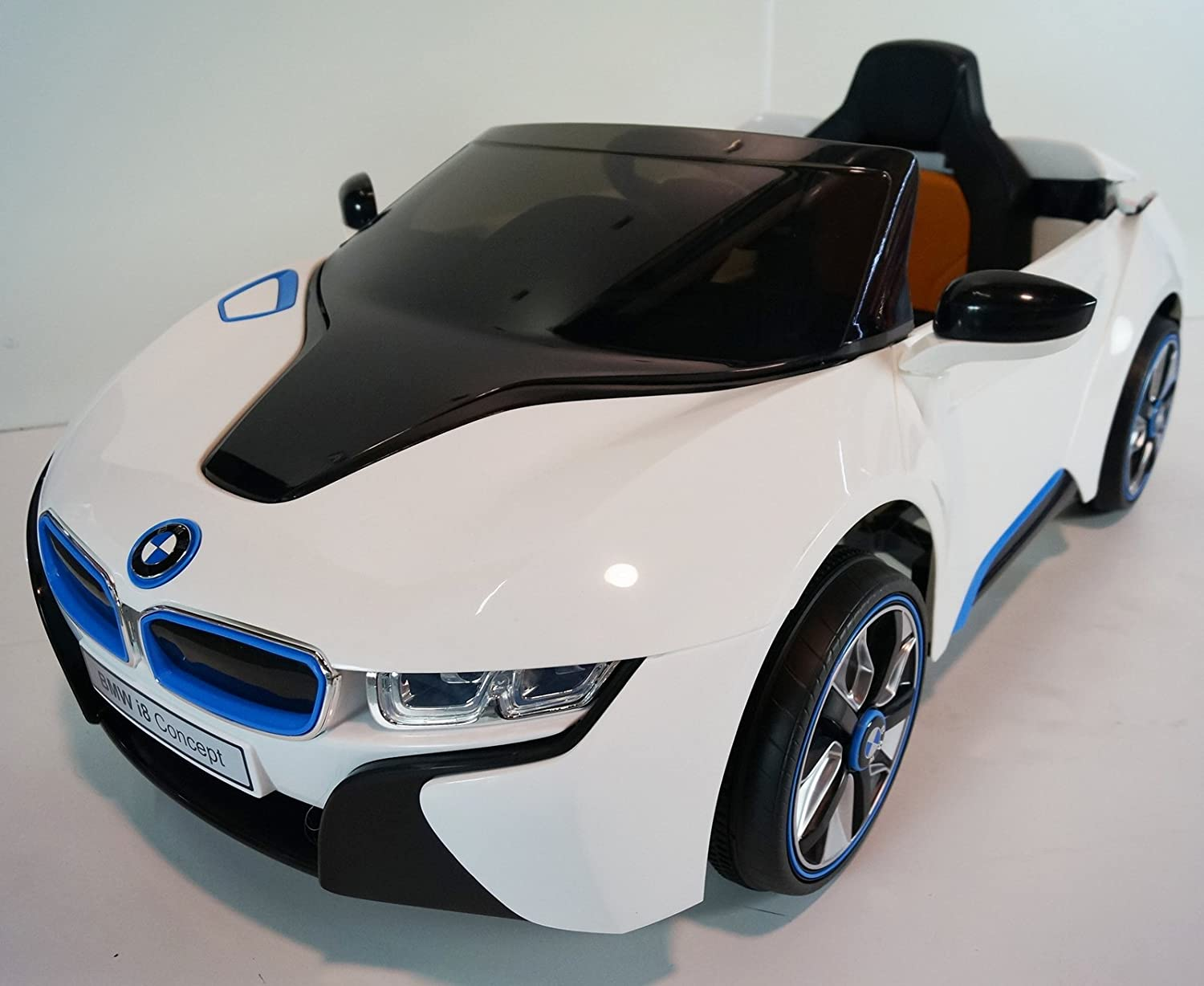 Amazon.com: BMW New I8 Kids Ride On Car, Power Wheels Battery With Remote  Control Toy Car: Toys U0026 Games