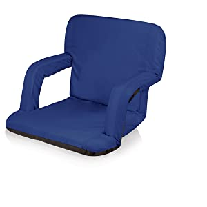 ONIVA - a Picnic Time Brand Portable Ventura Reclining Stadium Seat for Bleachers